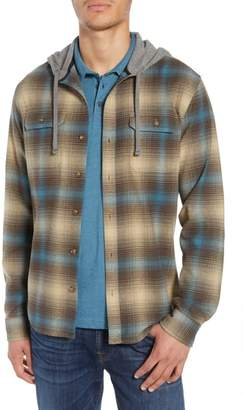 O'Neill Cultivate Hooded Flannel Shirt