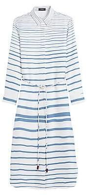 Theory Women's Belted Shirtdress