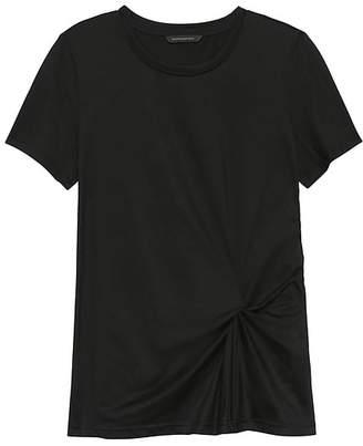 Banana Republic SUPIMA® Cotton Side-Twist T-Shirt