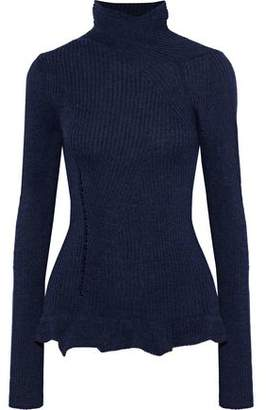Acne Studios Rosie Ribbed Merino Wool Turtleneck Sweater
