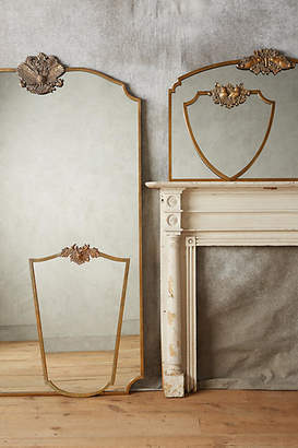 Anthropologie Wooded Manor Mirror