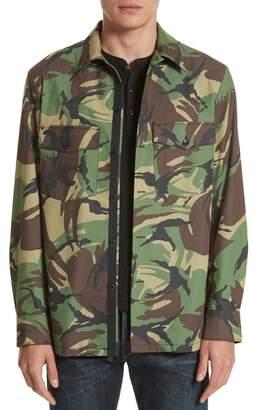 Rag & Bone Heath Camo Shirt Jacket
