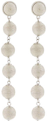 Lydell Nyc Thread-Wrapped Sphere Dangle Earrings qWDzen6h7H