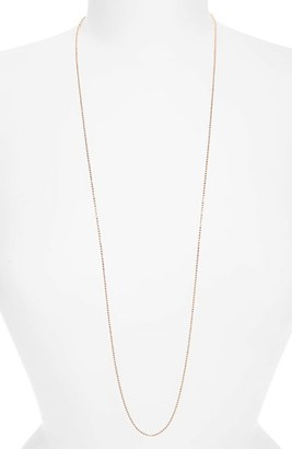 Women's Argento Vivo Long Ball Chain Necklace $78 thestylecure.com