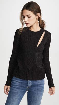 Mason by Michelle Mason Asymmetrical Layered Sweater