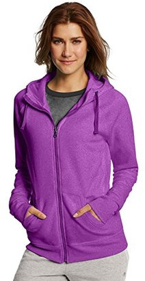 Champion Women's Fleece Full-Zip Hoodie $20.51 thestylecure.com
