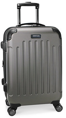 "Kenneth Cole Renegade 20"" Carry On Expandable Hardside Spinner Suitcase"