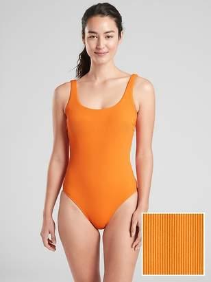 Athleta Cloudbreak Rib Scoop One Piece Swimsuit