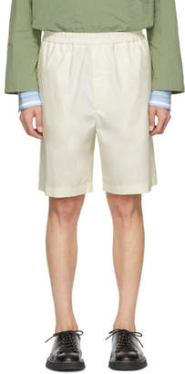 Jil Sander Off-White Sean Bis Shorts