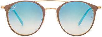 Ray-Ban Round $185 thestylecure.com