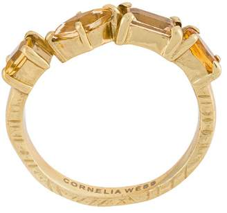 Cornelia Webb Slized round ring