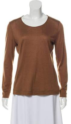 Akris Cashmere Knit Sweater Tan Cashmere Knit Sweater