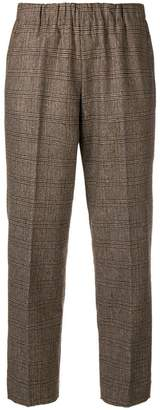 Kiltie tapered trousers