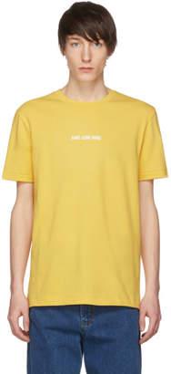 Leon Aime Dore Yellow Logo T-Shirt