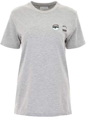 Chiara Ferragni T-shirt With Eye Embroidery