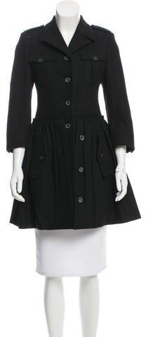 Miu MiuMiu Miu Wool Swing Coat