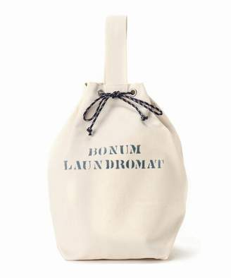 BONUM (ボナム) - BONUM No8 Canvas Draw String Bag L