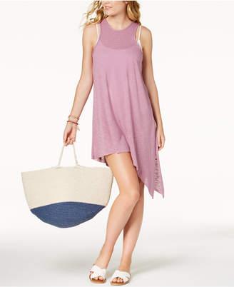 Becca Breezy Basics Asymmetrical-Hem Cover-Up Dress