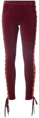 FENTY PUMA by Rihanna lace-up velour leggings