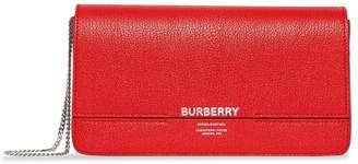 Burberry Leather Grace Clutch