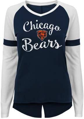Juniors' Chicago Bears Splitback Tee