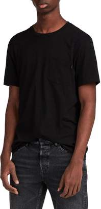 AllSaints Cure Tonic Slim Fit Pocket T-Shirt