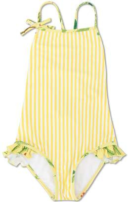 Oscar de la Renta Kids striped swimsuit