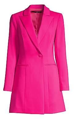 Jay Godfrey Women's Ace Mini Tuxedo Dress