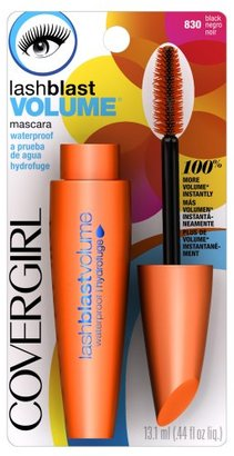 CoverGirl LashBlast Waterproof Mascara, Black 830,  0.44 - Ounce Package $8.42 thestylecure.com