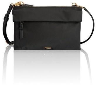 Tumi Voyageur - Tristen Nylon Crossbody Bag - Black $195 thestylecure.com