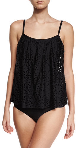 Luxe by Lisa Vogel Aphrodite Floral Sway Tankini Swim Top