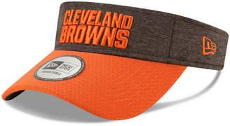 New Era Cleveland Browns On Field Sideline Visor