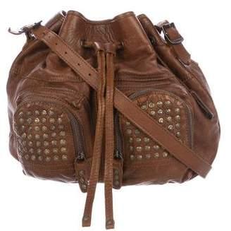 Frye Brooke Studded Bucket Bag