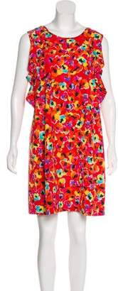 Sonia Rykiel Sonia by Floral Print Mini Dress