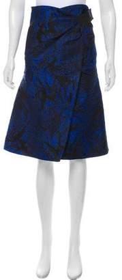 Proenza Schouler Jacquard Wrap Skirt