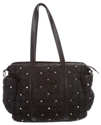 Rebecca Minkoff Quilted Studded Diaper Bag