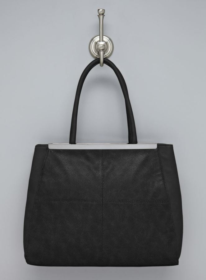 Sondra Roberts Stingray Faux Leather Tote