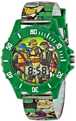 Nickelodeon Ninja Turtles Kids' Digital Watch with Green Bezel