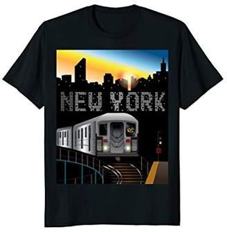 New York Subway Ride T-Shirt