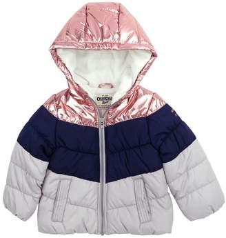 Osh Kosh Oshkosh Bgosh Baby Girl Heavyweight Chevron Jacket
