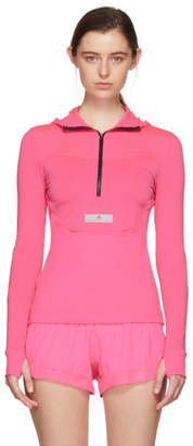 adidas by Stella McCartney Pink Run Hoodie Jacket