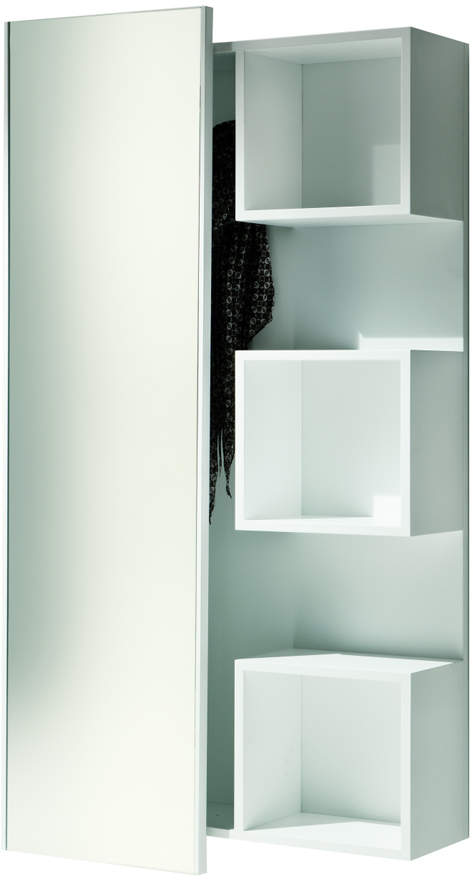 Cappellini Pacini e Welcome Unit with Mirror - Wenge