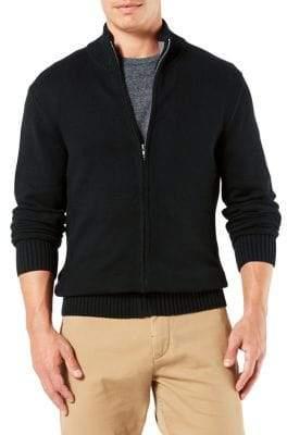Dockers Full-Zip Cotton Sweater