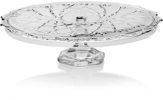 Mikasa Glass Footed Cake Plate