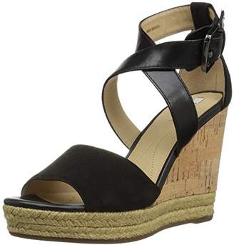 Geox Women's W Janira 9 Wedge Sandal