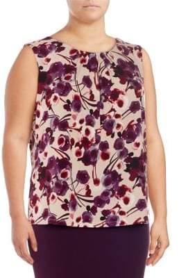 Calvin Klein Plus Floral Printed Camisole