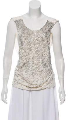 Jason Wu Silk Beaded Blouse w/ Tags