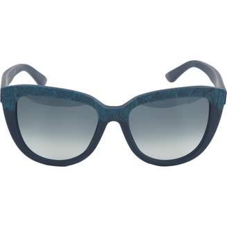 Etro Navy Plastic Sunglasses