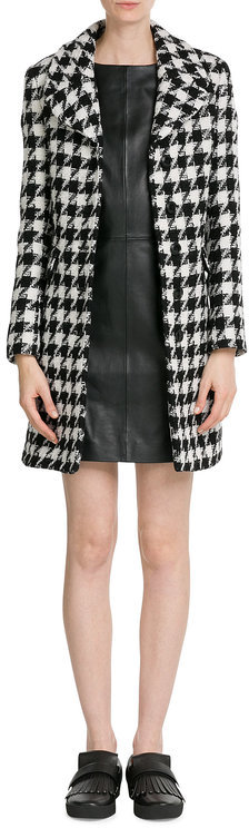 MoschinoBoutique Moschino Dogstooth Wool Coat