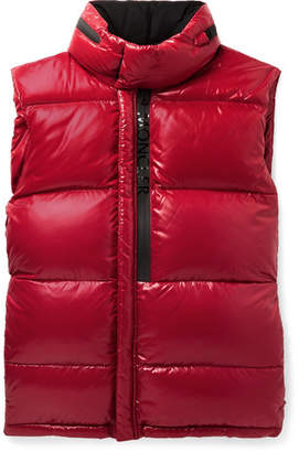 Moncler Alrance Quilted Shell Hooded Down Gilet